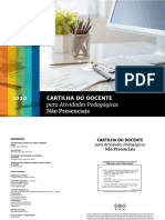 E-book. CORRÊA et al. Cartilha do docente para atividades pedagógicas não presenciais (2020)