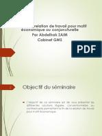 La fin de la relation de travail pour motif économique.pdf