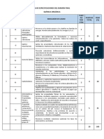 TABLA DE ESPECIFICACIONES CONTROL DE SALIDA -Q.ORGÁNICA (1) 2019-II