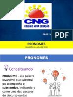 AULA 01 - PRONOME - CNG