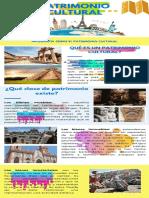 infografía de patrimonio cultural