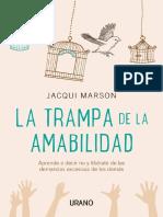 La trampa de la amabilidad - Jacqui Marson.pdf
