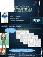 Revisión guía nro 7 FOLCLORE CHILENO