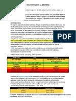 OBESIDAD. definición, diagnostico, fisiopatología, signos y sintomas, epidemiología