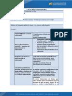 Actividad- Informe de lectura y análisis de textos y-o recursos audiovisuales