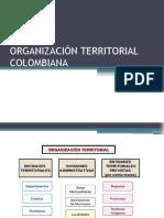 Organizacion Territorial Colombiana