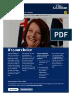 525. Julia Gillard loses her teddy bear