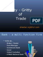 Nitty Gritty of Trade