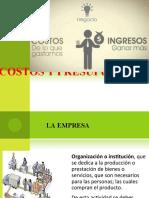 PRESENTACION DEL CURSO DE COSTOS Y PRESUPUESTOS