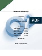 GENERACION DE EMPRESAS II_AvanceV