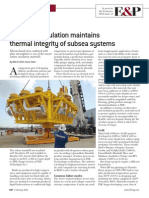 Advanced insulationfor subsea application