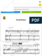 Sympathique Piano Sheet Music - Pink Martini (Digital Sheet Music)