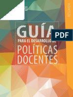 Guia Politicas Docentes-UNESCO