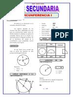 4TO DE SEC GEOMETRIA TEMA 5 CIRCUNFERENCIA I (1)