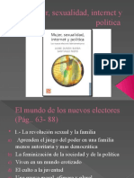 Mujer, sexualidad, internet y política