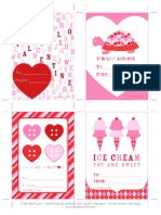 Free Printable Valentine's Day Cards by Anders Ruff