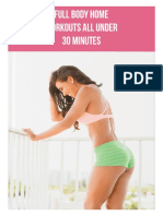 Ainsley Rodriguez - Full Body Home Workouts All Under 30 Min