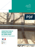 Construction Et Rehabilitation en Terre Crue - Points de Vigilance