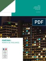 Fenetres - Points de Vigilance