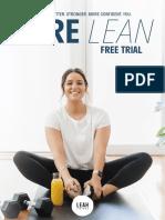 BARE Lean Free Trial - Orange
