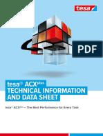 tesa ACXplus - Technical Data Sheet