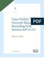 NBR Web Services API 2.3.5 Guide