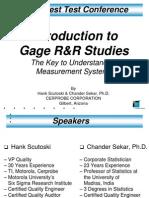 GR&R Study