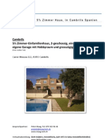 Cambrils Hausverkauf Dossier