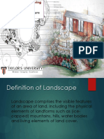 Landscape design development