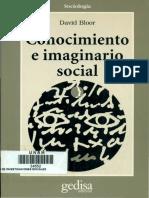 Bloor-El programa fuerte en sociología del conocimiento (Capítulo Primero)