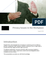 PPT Privacy Issues Training for Supervisors