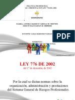 ACTIVIDAD 1 LEY 776 DEL 2002