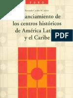 Financiamiento de Centros Históricos