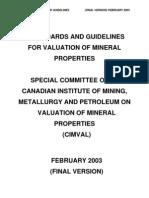 Mineral evaluation _final_standards