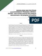 Sociologia das pol+¡ticas Educacionais (S.Ball)