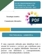 Módulo IX - Tecnologia Assistiva e Comunicação Alternativa