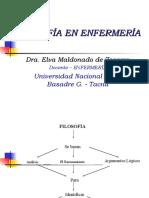 INFLUENCIAS FILOSÓFICAS- FILOSOFÍA DE ENFERMERÍA (1)