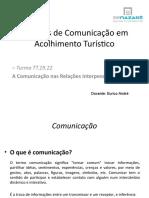 MODULO 1 A Comunicação nas relações  interpessoai