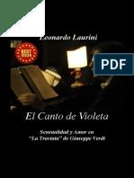 Copertina El Canto de Violeta