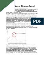 Parámetros Thiele