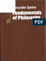Alexander Spirkin - Fundamentals of Philosophy