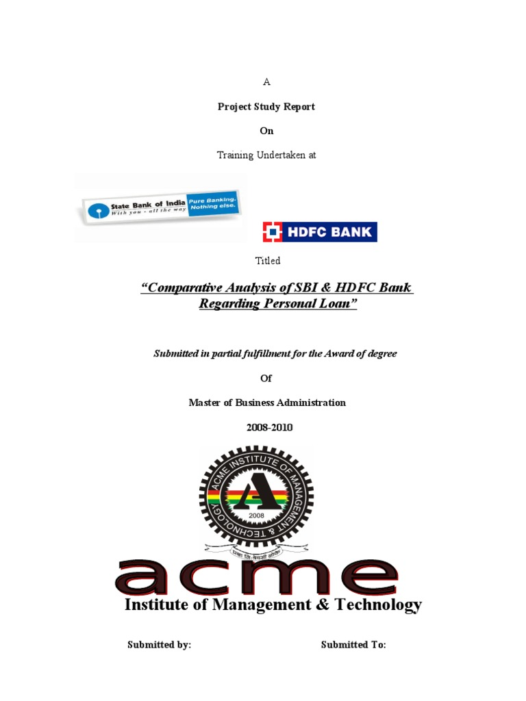 Comparative analysis of sbi hdfc bank cheque banks reheart Images