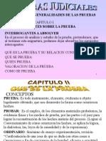 Diapositivas derecho probatorio marulanda usc