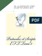 protocoles script eft TOME 2