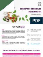 concepto general de nutricion