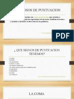 LOS SIGNOS DE PUNTUACION - BREY