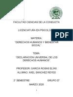 derecho - 5to trabajo - final - 'DECLARACIÓN UNIVERSAL DE LOS DERECHOS HUMANOS''