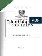 Identidades_sociales Gimenez-- Libro a revisar.pdf