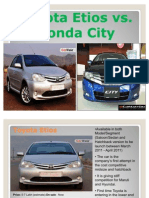 Toyota_Etios vs Honda City