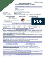 SANIT - OX FP - MSDS